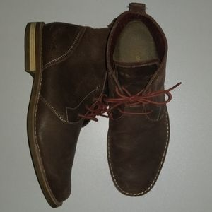 11.5 Original Penguin Monty Leather Chukka Boots